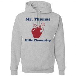 Custom Name Teacher Hoodie