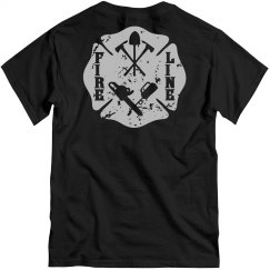 Wildland Firefighter Fire Line Maltese Cross