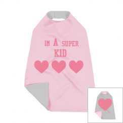 I'm A Super Kid Toddler Cape