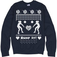 Volleyball Sweater Design