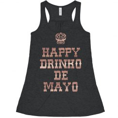 Metallic Drinko De Mayo Crop