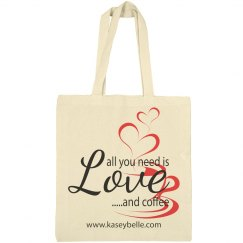 Love and Coffee Tote