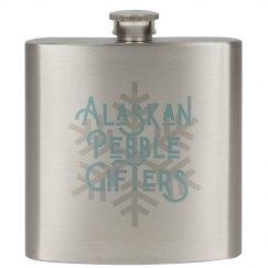 Alaskan Pebble Gifters Flask
