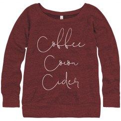Coffee Cocoa Cider