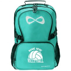 Volleyball Nfinity Bag Custom Name Backpack