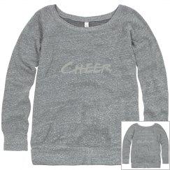 Purple Cheer Sweatshirt