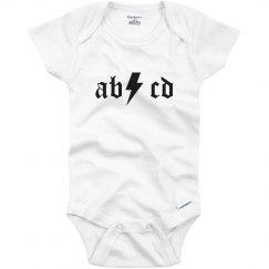 AB CD Rocker Baby
