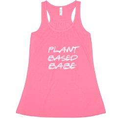 Plant-based babe