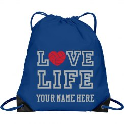Love LIFE volleyball bag