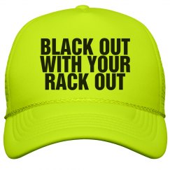Black Out Party Hat