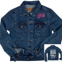 GOBABIES LADIES DENIM JEAN JACKET