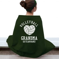 Volleyball Grandma Blanket