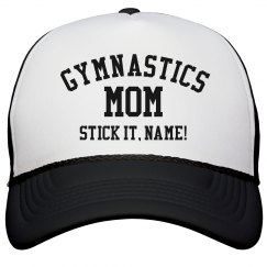 Custom Gymnastics Mom Pride Hat