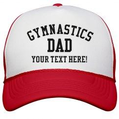 Custom Gymnastics Dad Snapback