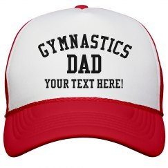 Custom Gymnastics Dad Snapback