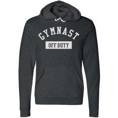 Funny Off Duty Gymnast Hoodie
