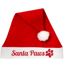 Santa Paws Dog Hat