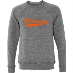 crewneck orange wildcats