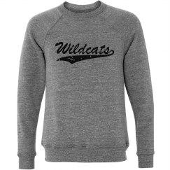 Wildcats black crewneck