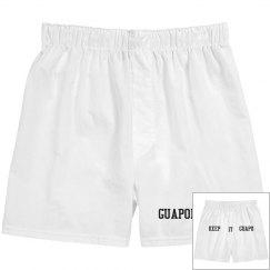 Keep it guapo boxer shorts