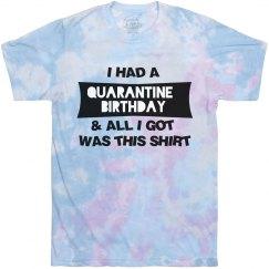 Funny Quarantine Birthday