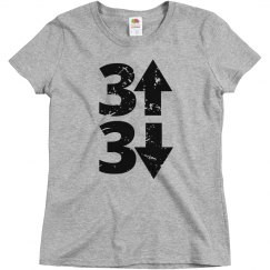 3 Up 3 Down Baseball Tee