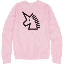Unicorn crew neck sweater