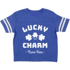 Lucky Charm Custom St. Patrick's Toddler Tee