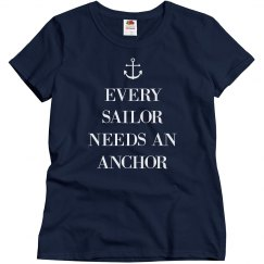 Every Sailor Needs An Anchor