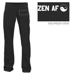 Zen AF Custom Yoga Pants