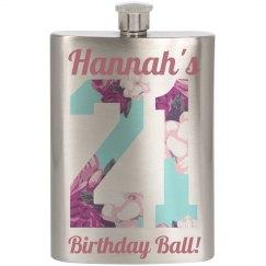21 Birthday Drinking Ball