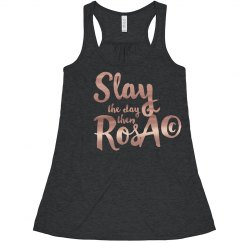 Slay The Day Then Rosé tank