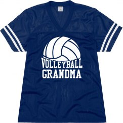 Volleyball Grandma Jersey