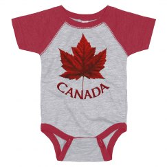 Canada Souvenir Baby Bodysuit
