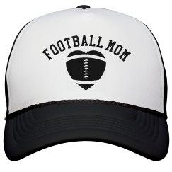 Simple Hat Football Mom