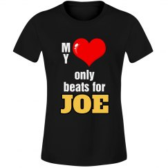 Heart beats for Joe