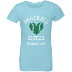 Custom Baseball Stylish Sister