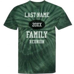 Custom Family Reunion Group Tees