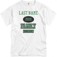 Custom Last Name Family Reunion