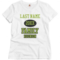 Customizable Family Reunion Group