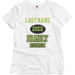 Customizable Family Reunion Group