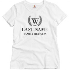 Group Family Reunion Designs Custom