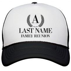 Custom Family Reunion Hats