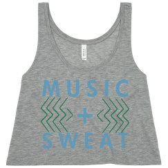 Music + Sweat Crop