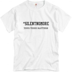 #SilentNoMore Tee for Him