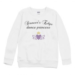 youth dance princess sweatshirt