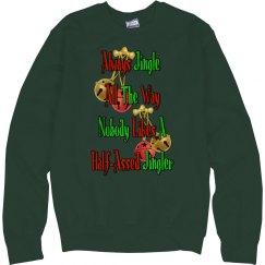Holiday Humor Unisex Sweatshirt