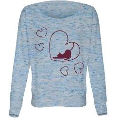 Cat Love Sweatshirt