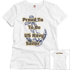 Proud Navy Shirt