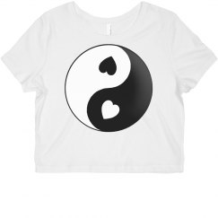 Yin Yang Love Heart Shirt